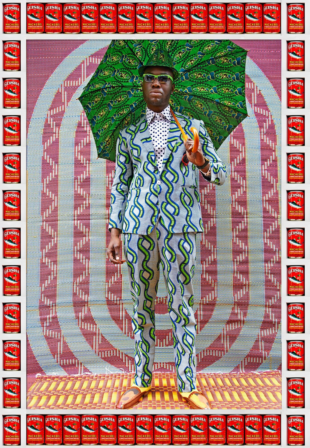Hassan Hajjaj  African Boy . Courtesy No Lab.