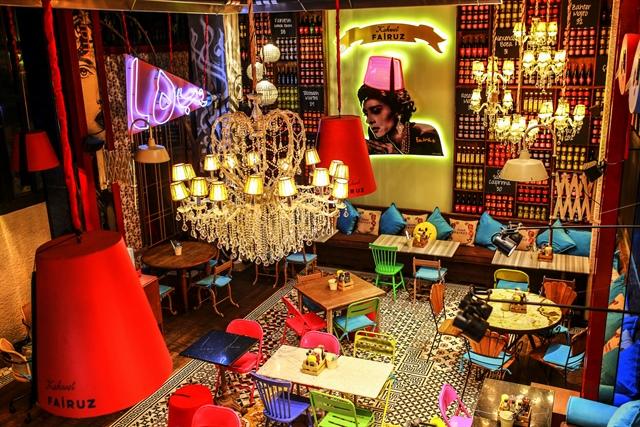Kahwet Fairuz, cafe in Istanbul.