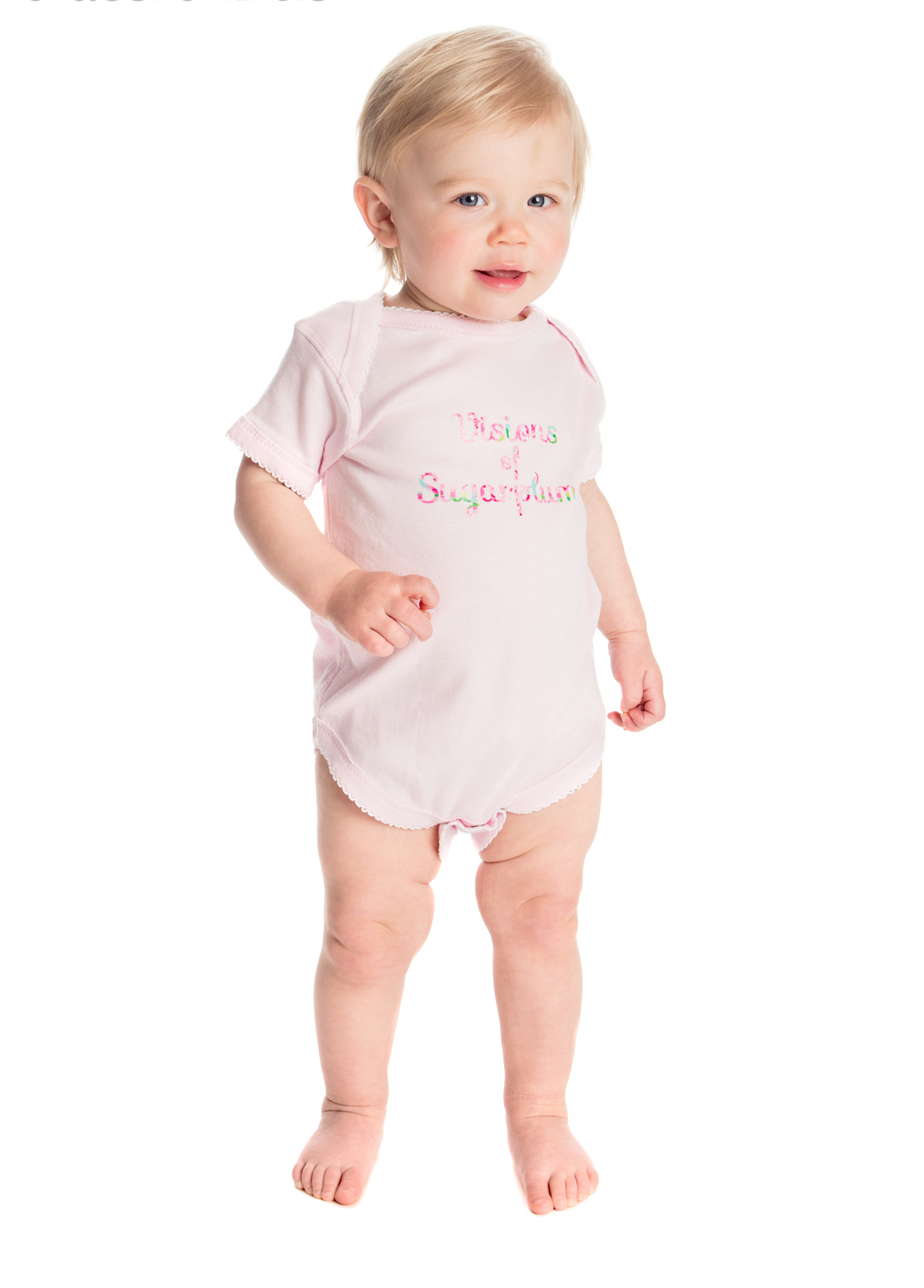 Visions of Sugarplums...Bodysuit for Baby Girls and Toddlers
