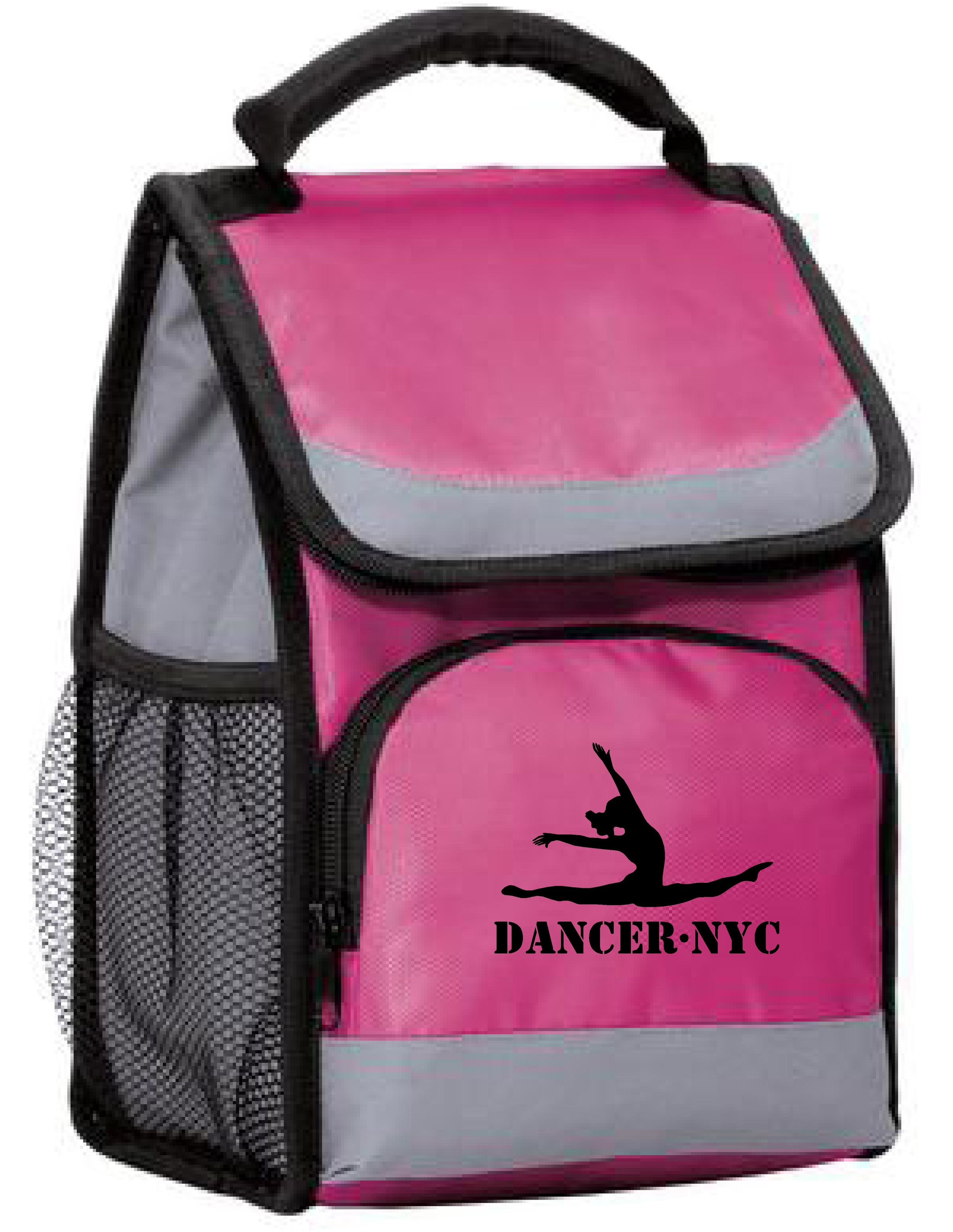 Dancer.NYC Embroidered Insulated Lunch Bag & Mini Cooler