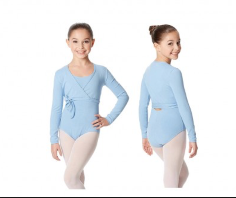 Young Dancer Wrap Cardigan Sweater - Cotton