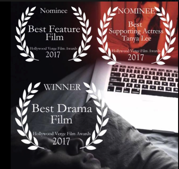"STREAMER wins ""BEST DRAMA FILM"" @ Hollywood Verge Film Awards"