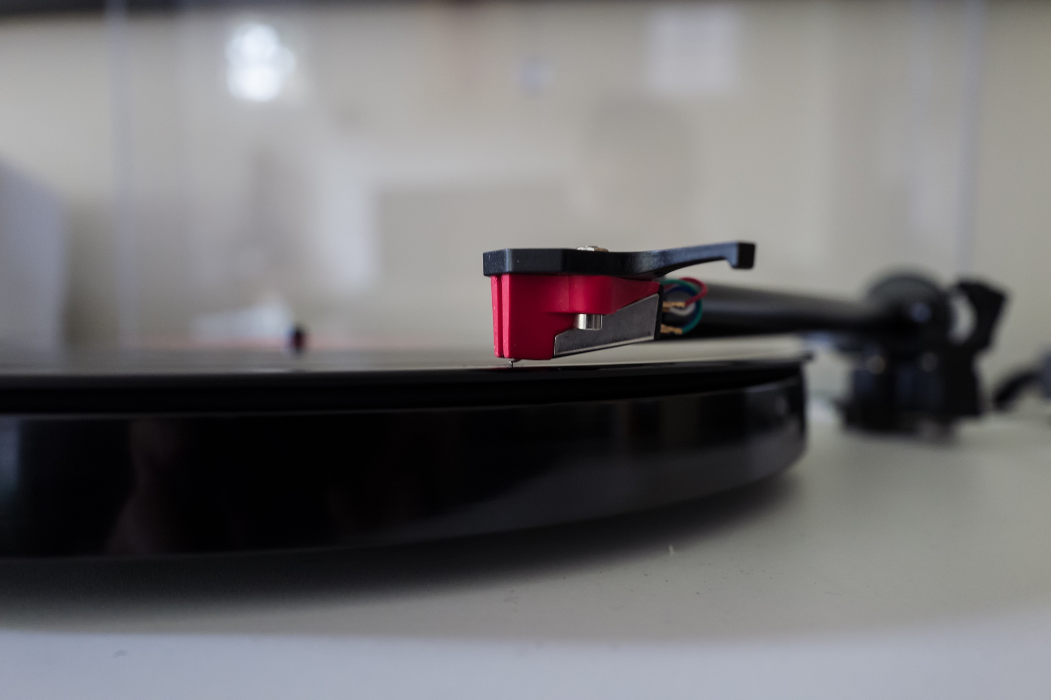 This is the Turntable cartridge. I love this perspective.