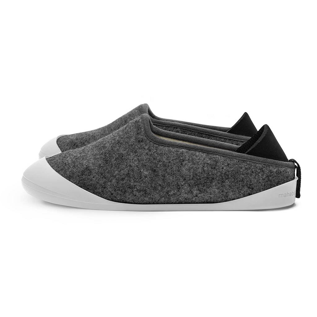 Mahabis - I really like the Mahabis slippers. They are so warm and comfortable. They run a size small.