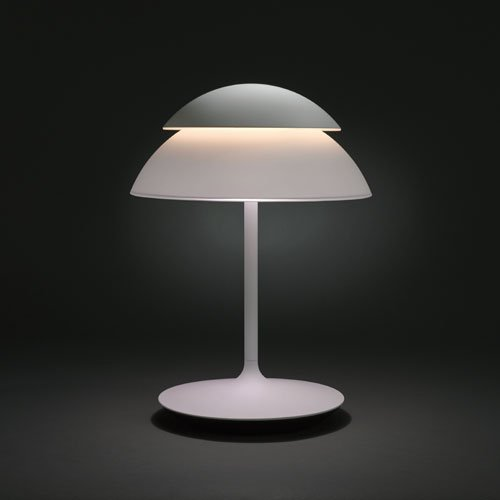 Philips Hue Beyond Dimmable LED Smart Table Lamp - We go these for our kids bedrooms and they are so awesome. Works with Apple Homekit, Alexa and all that.