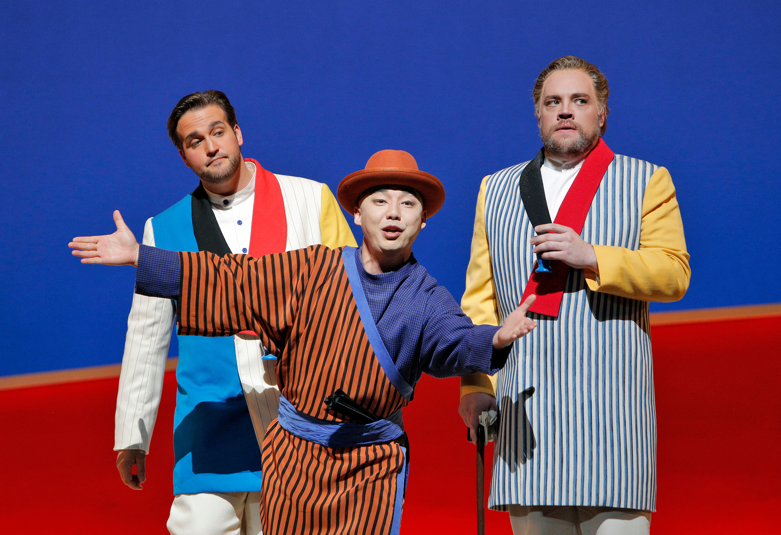 Goro  MADAMA BUTTERFLY  by Puccini San Francisco Opera Jun Kaneko Production  June 2014