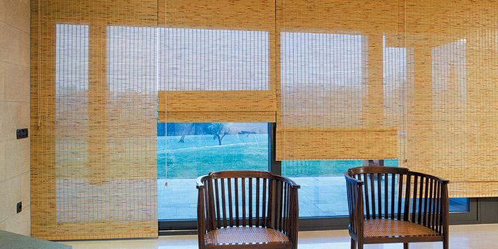 Woven Wood Shades -
