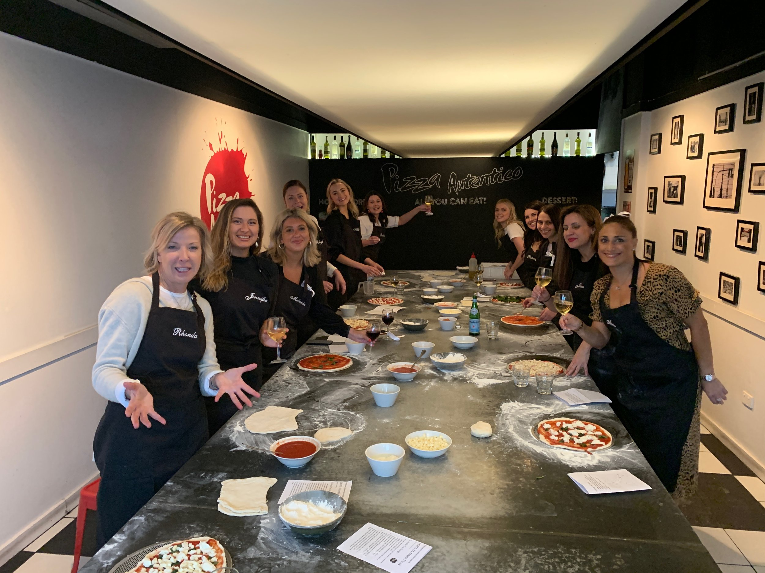 Pizza  making group 2 .JPG