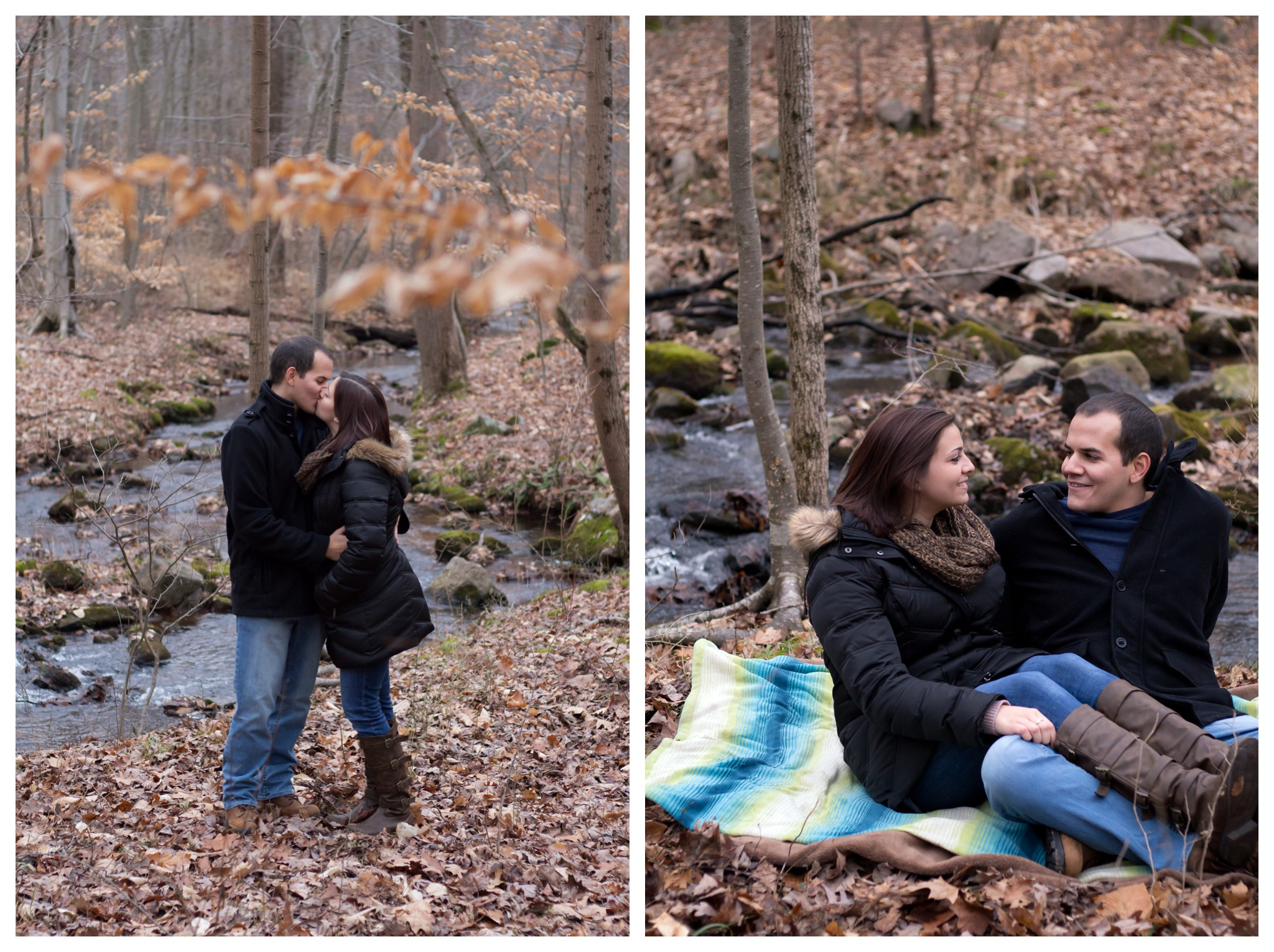 Amber & Mark - French Creek State Park PA Engagement Session