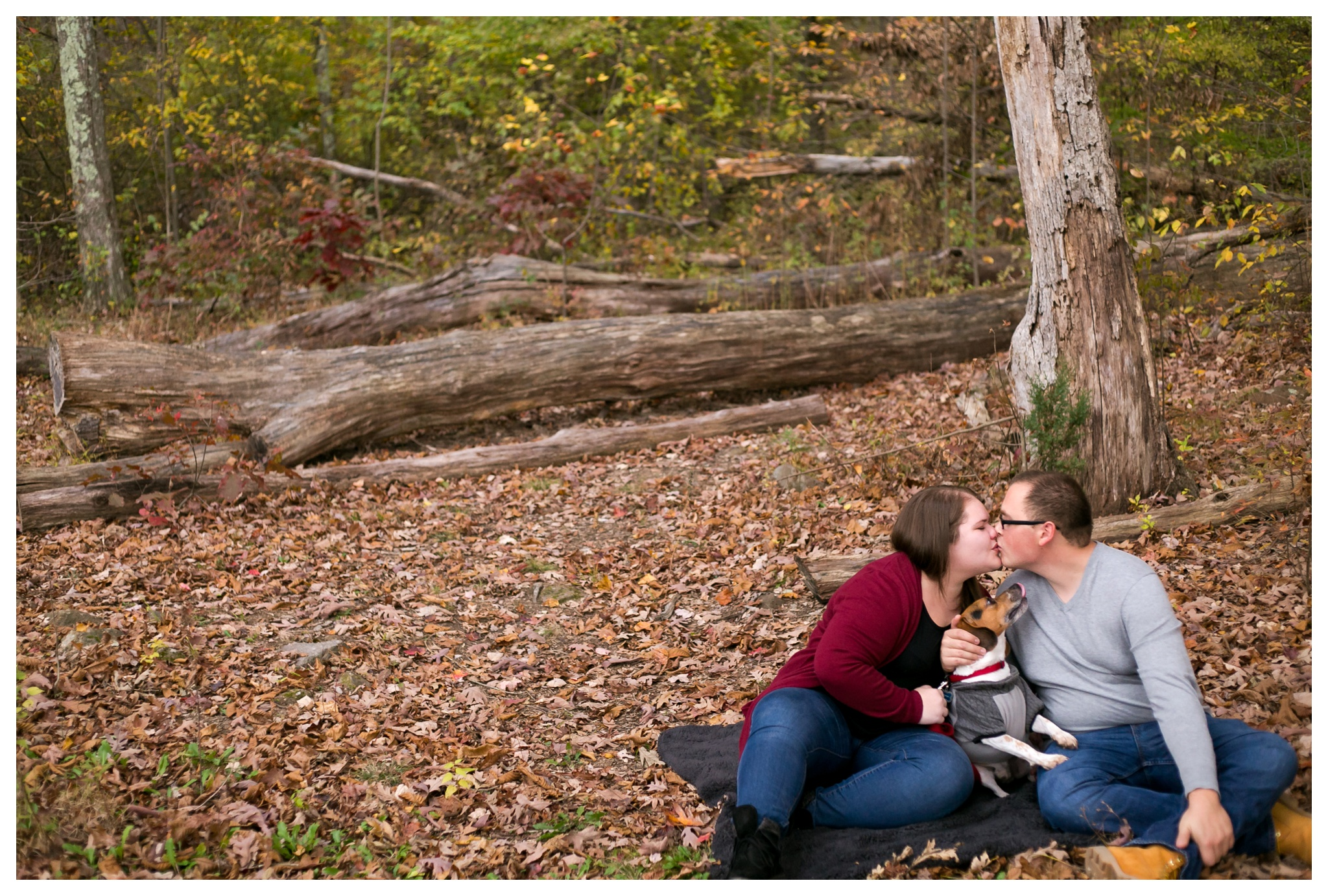 Jessica & Cole Engagement French Creek State Park 10