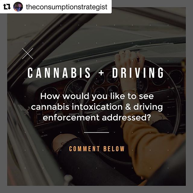 """#Repost @theconsumptionstrategist ・・・ Going forward, how would you like to see cannabis intoxication + driving enforcement addressed? • 1.) """"Effect Based"""" - """"The first approach is """"effect-based,"""" by which prosecutors must prove that the drug impaired the driver's ability to operate a motor vehicle."""" • 2.) """"Per Se"""" - """"Due to the limitations of the effect-based approach, some states have adopted """"per se"""" laws, which make it a criminal offense for an individual to have a specified amount of drug or metabolite in his or her body while operating a motor vehicle. This threshold concentration is a legal limit, and exceeding this amount serves as proof of legal impairment."""" • 3.) Zero tolerance- If any level of drug/metabolite = DUID • 4.) No approach to enforcement. • 5.) It's the responsibility of the cannabis server / lounge to dictate the guest's consumption habits. • 6.) We don't have enough science yet / we need better tools to detect impairment. • 7.) Cannabis cannot impair. (Yes, I hear this often) • 8.) Only arrest for crime (Reckless driving, no signal, etc.) but no arrest or check for substances. • PICK ONE (or multiple) AND COMMENT BELOW: • 👇👇👇 • • • • #cannabis #driving #safety #cannabiscommunity #cannabisculture #cannabiscup #safety #law #drugs #weed #weedstagram #budtender #bar #bartender #cannabisdaily #thc #cbd #cannabinoids #science"""