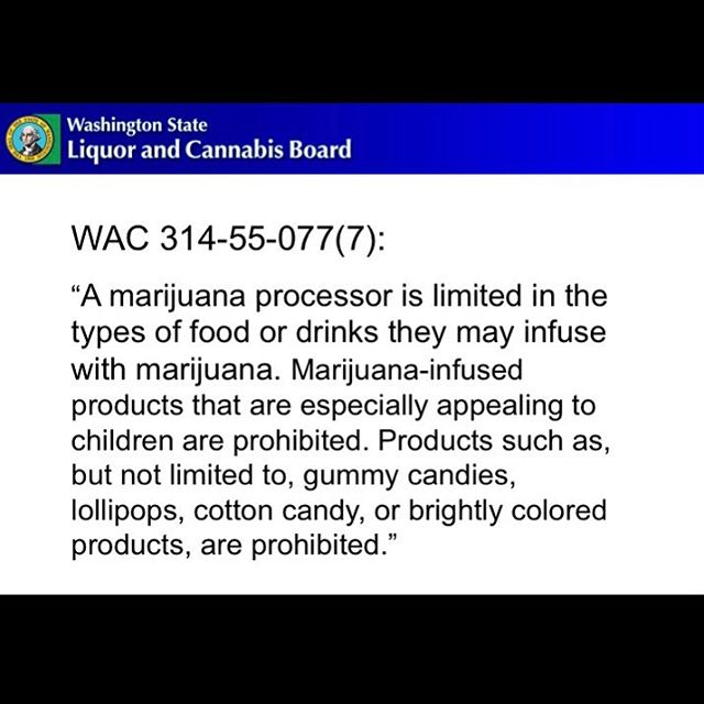 Washington State sets the stage to BAN gummies, hard candies and brightly colored edibles that *may* be appealing to children. 😮 • Let us know what you think below... • #seattle #washingtonstate #cannabis #cannabiscommunity #cannabisculture #banned #edibles #candy #infused #hightimes #thc #cbd #gummies #dispensary #dispensarylife #budtender #budtenderlife #recreationalmarijuana #infusededibles #cannabisinfused #edible #eatyourweed #adultuse