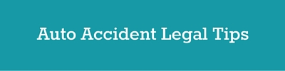 auto accident legal tips