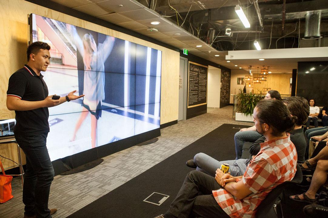 Steven Bai | Interactive Arts Meetup - Sydney
