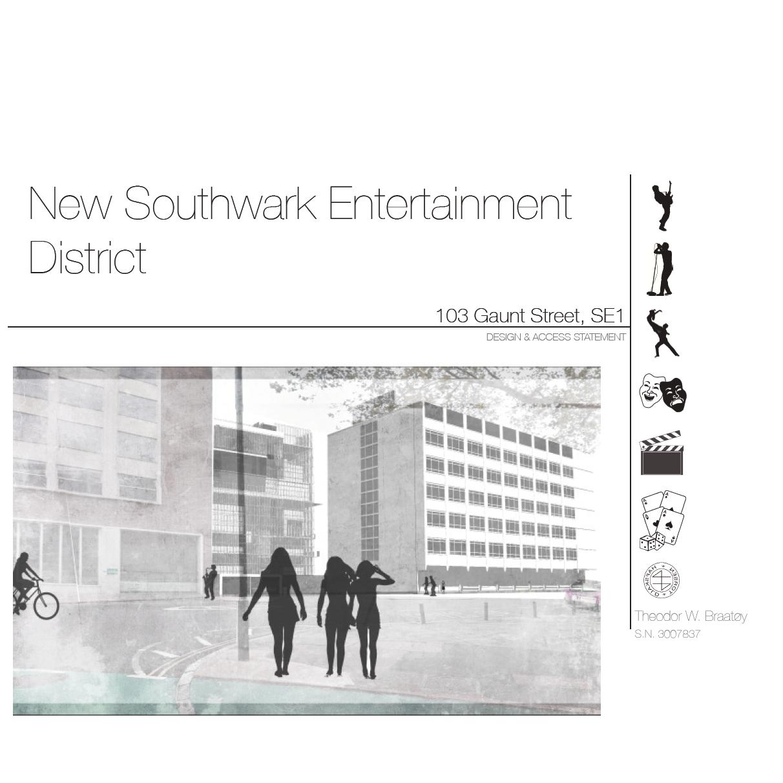 Design & Access Statement for E&C Entertainment District