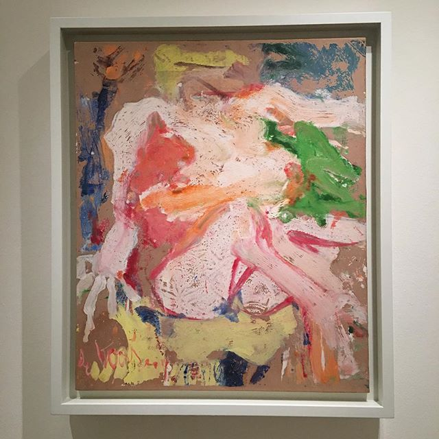 I think this is Willem de Kooning's Trump Nude on a Beach?