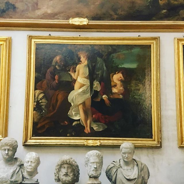 Here in Rome, a Caravaggio around every corner...