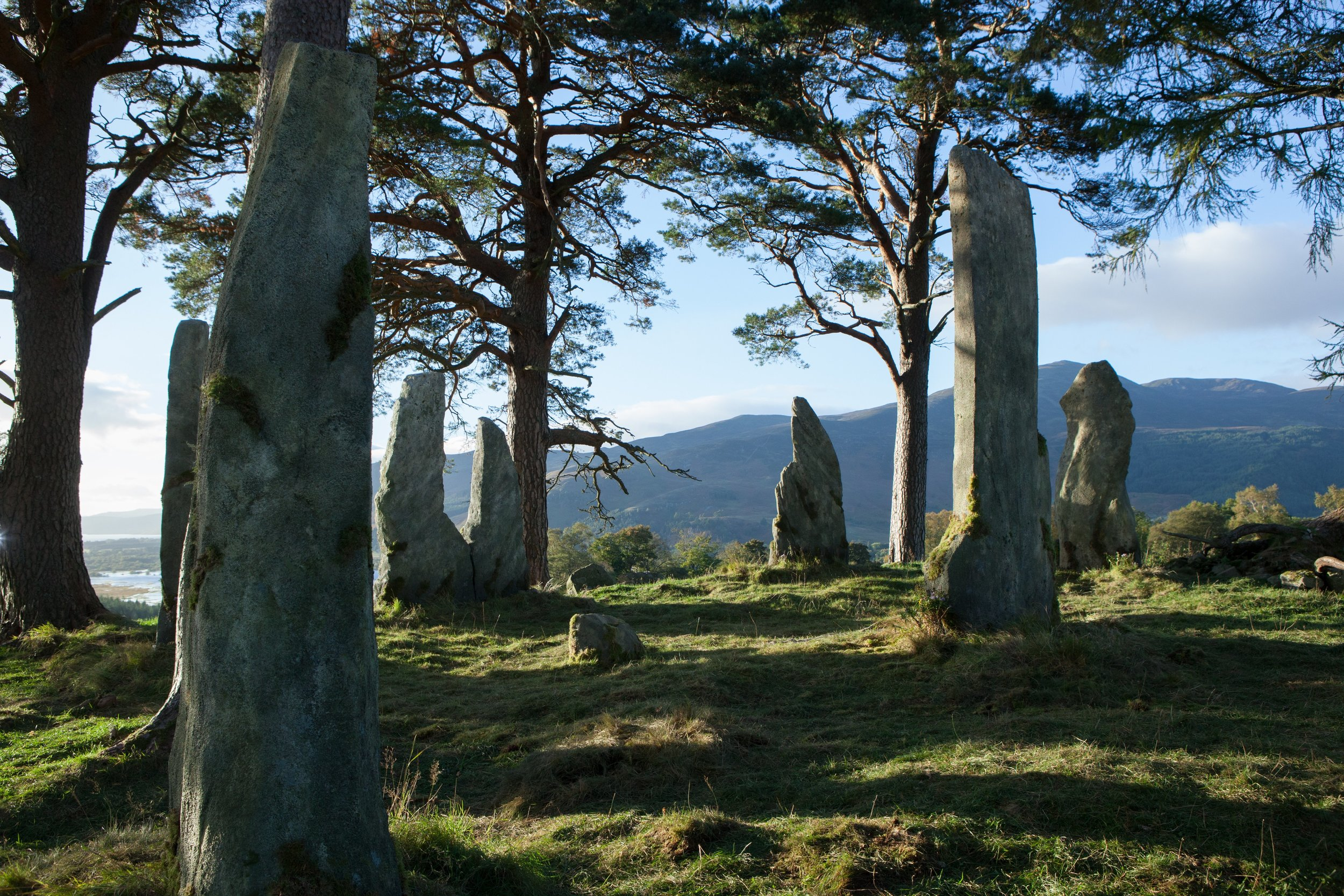 Craig Na D'un, Standing Stones, Scotland. Who couldn't be inspired by this?