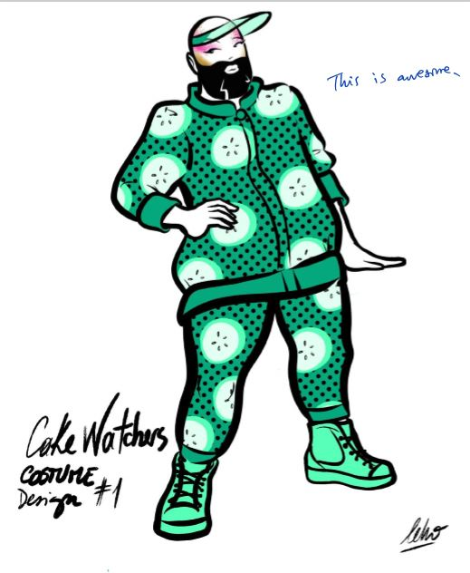 Cucumber Leisure Suit design by Leho