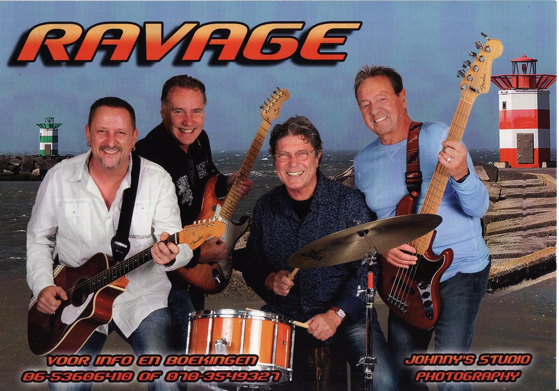De hele Vlaggetjes dag is er live muziek het Zeemanshuis o.a. Ravage