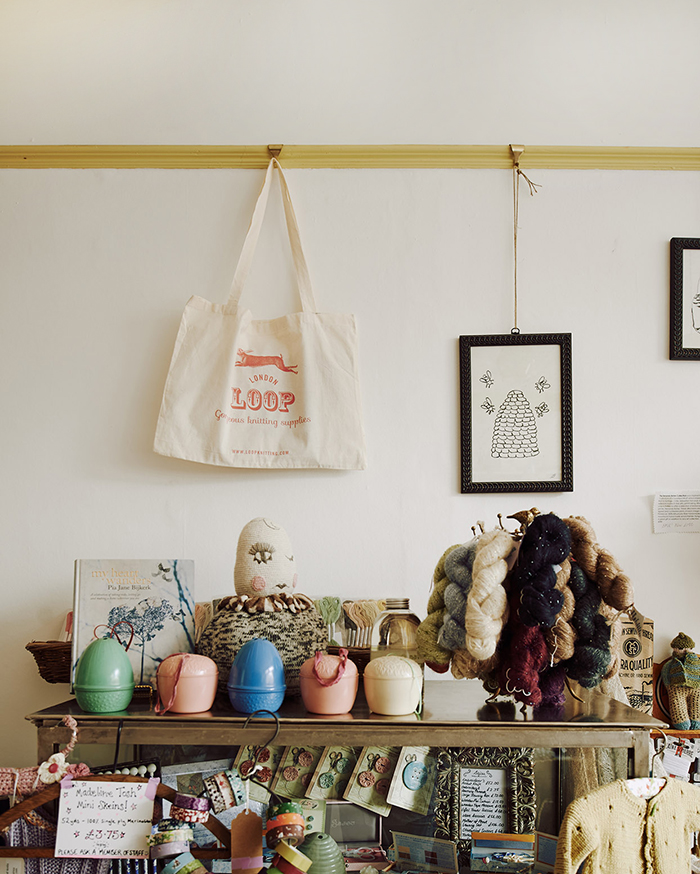 Loop, London (photo by  Michael Sinclair  from  The Shopkeeper's Home  book by 91 Magazine editor,Caroline Rowland)