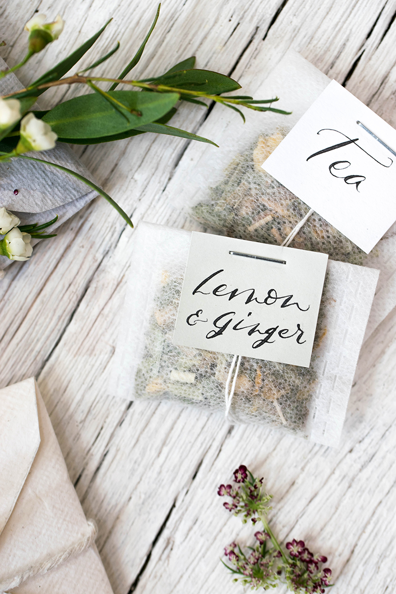 Styling and Photography workshop plus 'make your own teabags'
