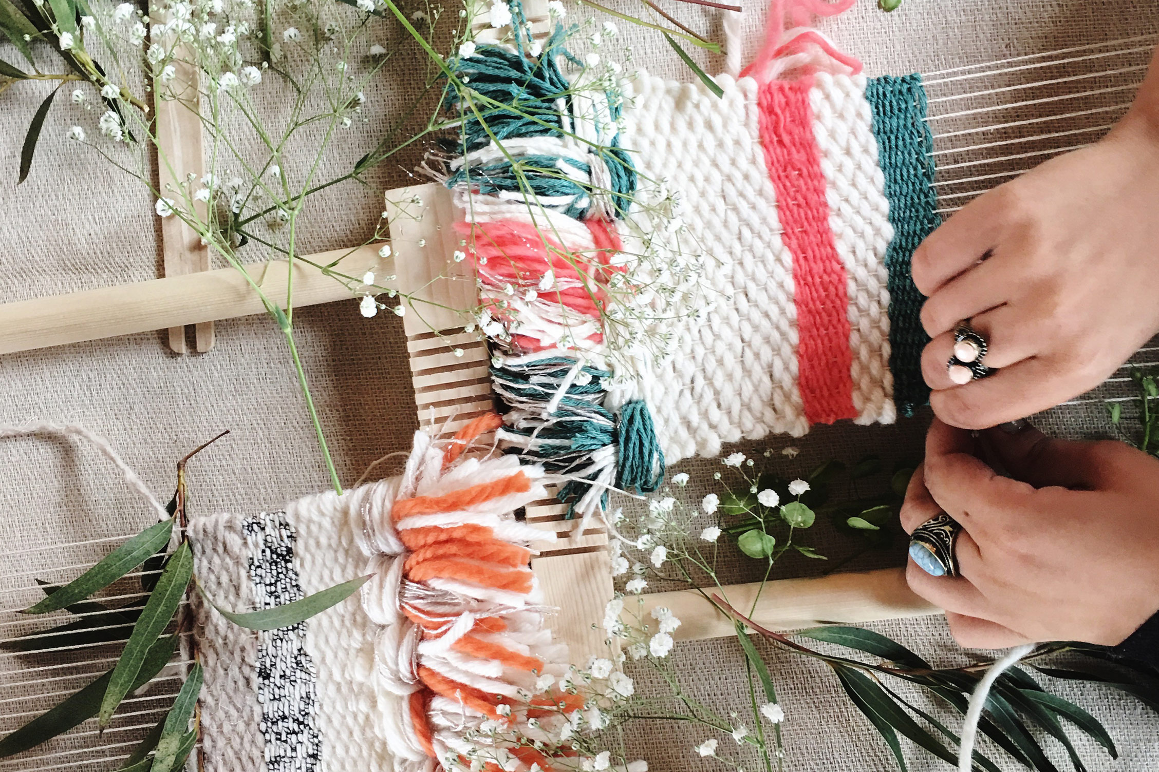The Basic of Weaving workshop