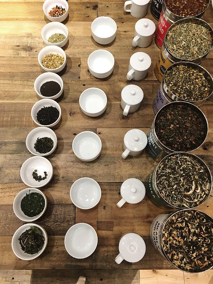 Bluebird Tea Co 's tea blending workshop / Photo: Caroline Rowland