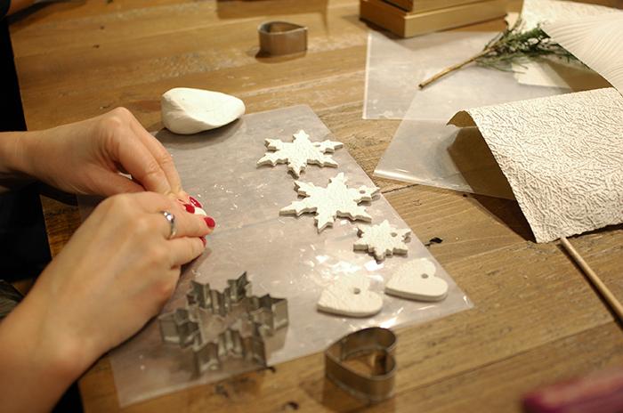 Katie Robbins  (Ceramic Magpie) workshop / Photo: Caroline Rowland