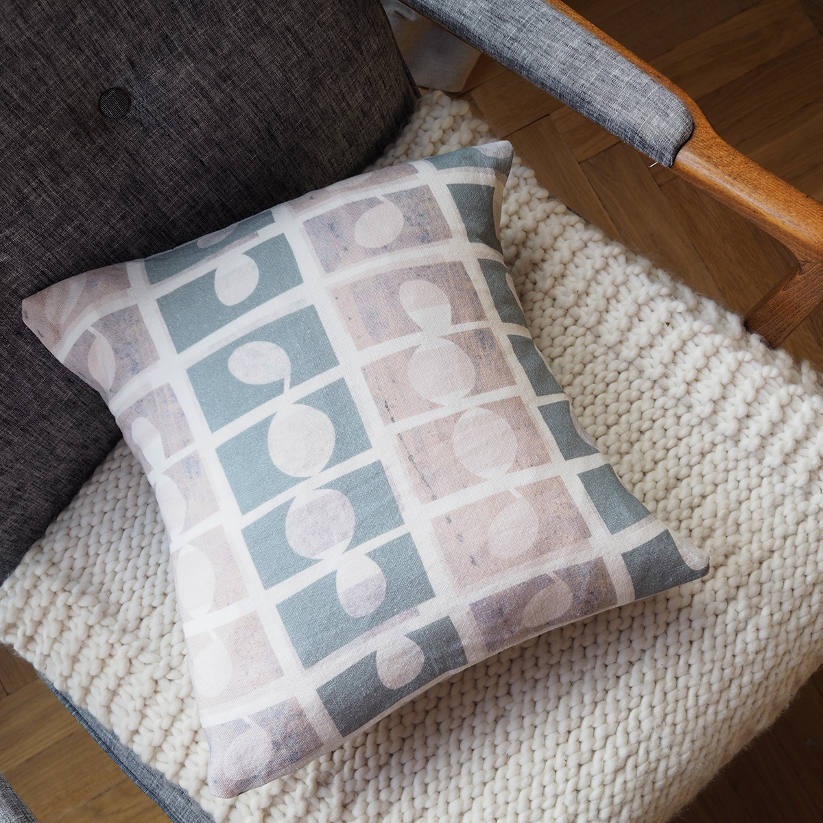 Make an easy cushion cover
