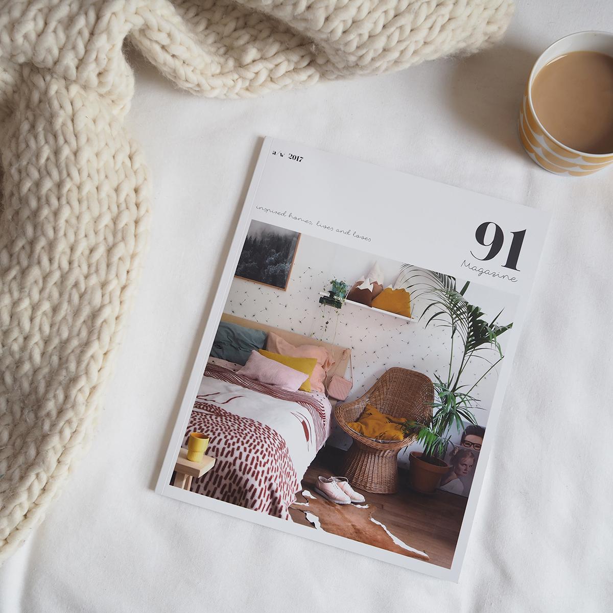 91 Magazine AW17 issue