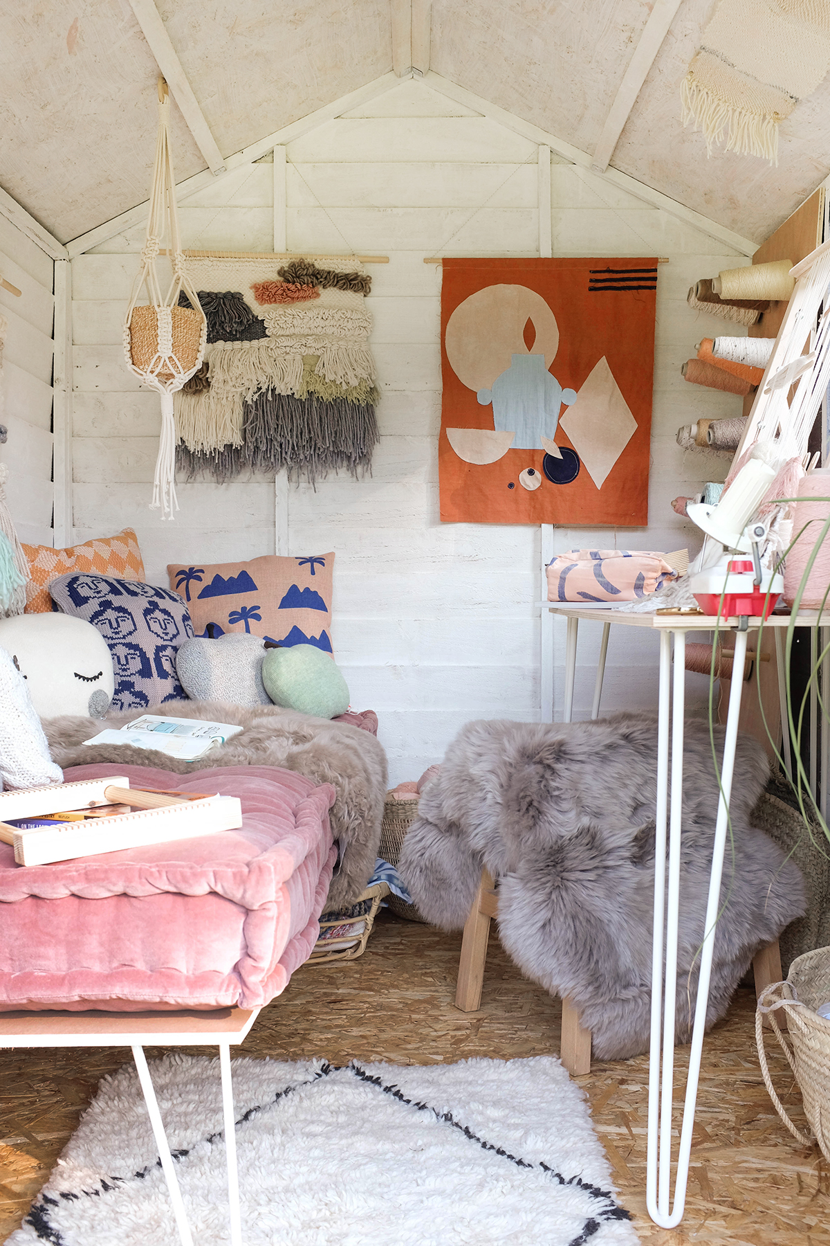 Creative shed makeover