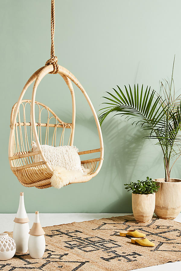 Rattan Hanging chair  - £548 - Anthropologie