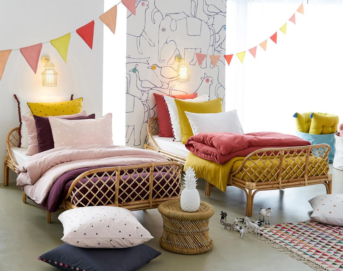 Child's rattan bed  - £379 - La Redoute