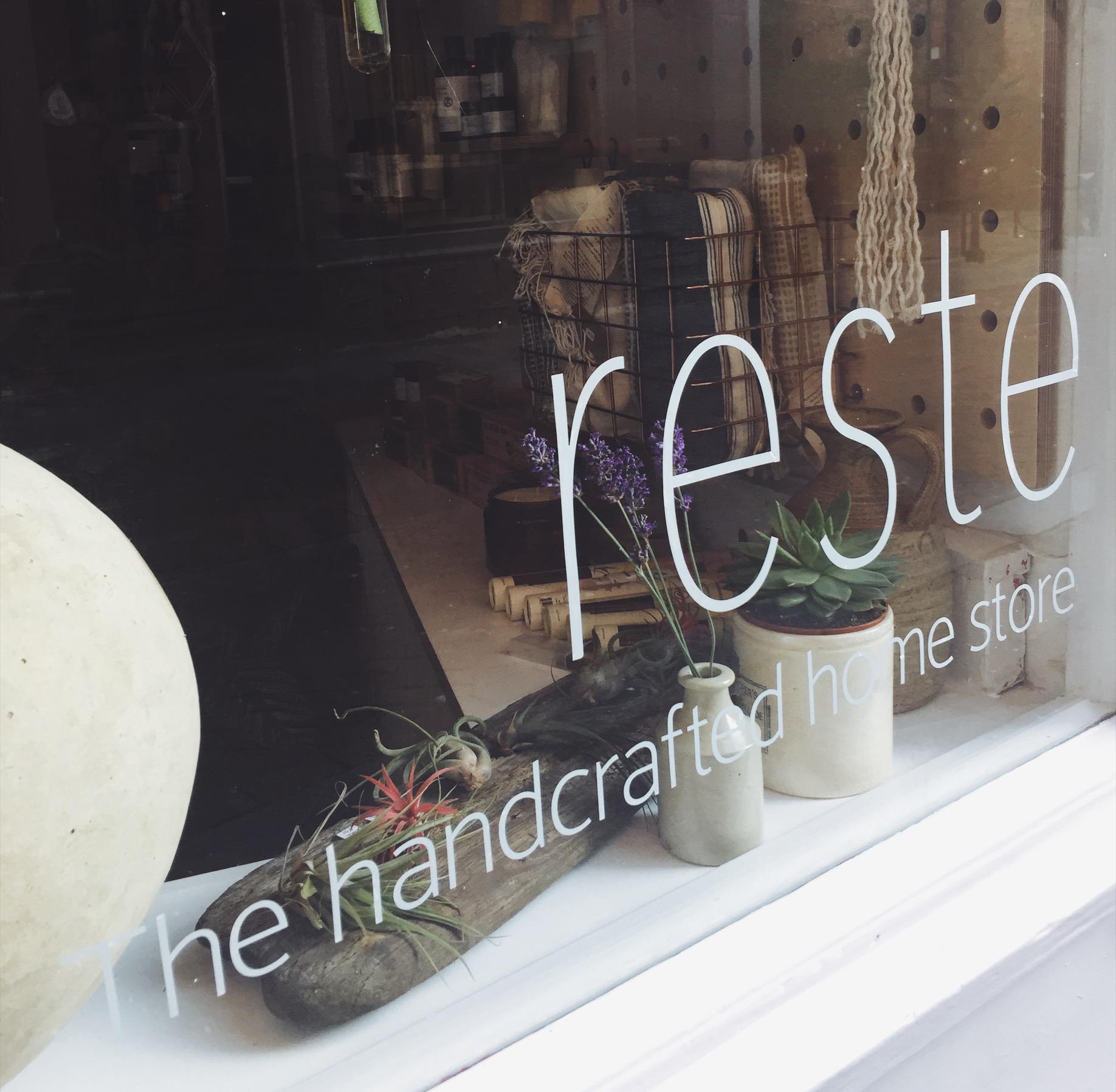 Reste, homeware store, Hastings