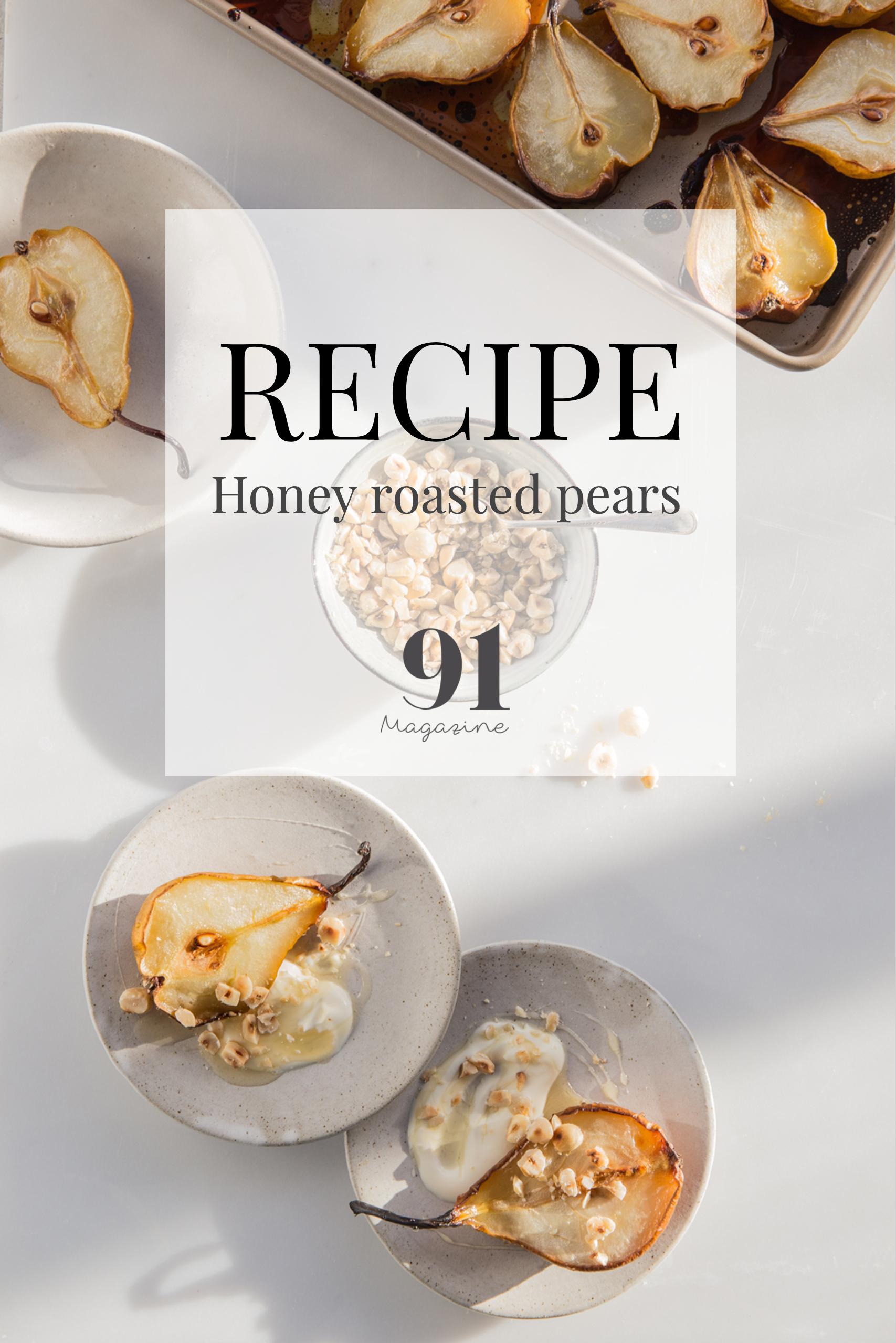 RECIPE: Honey Roasted Pears