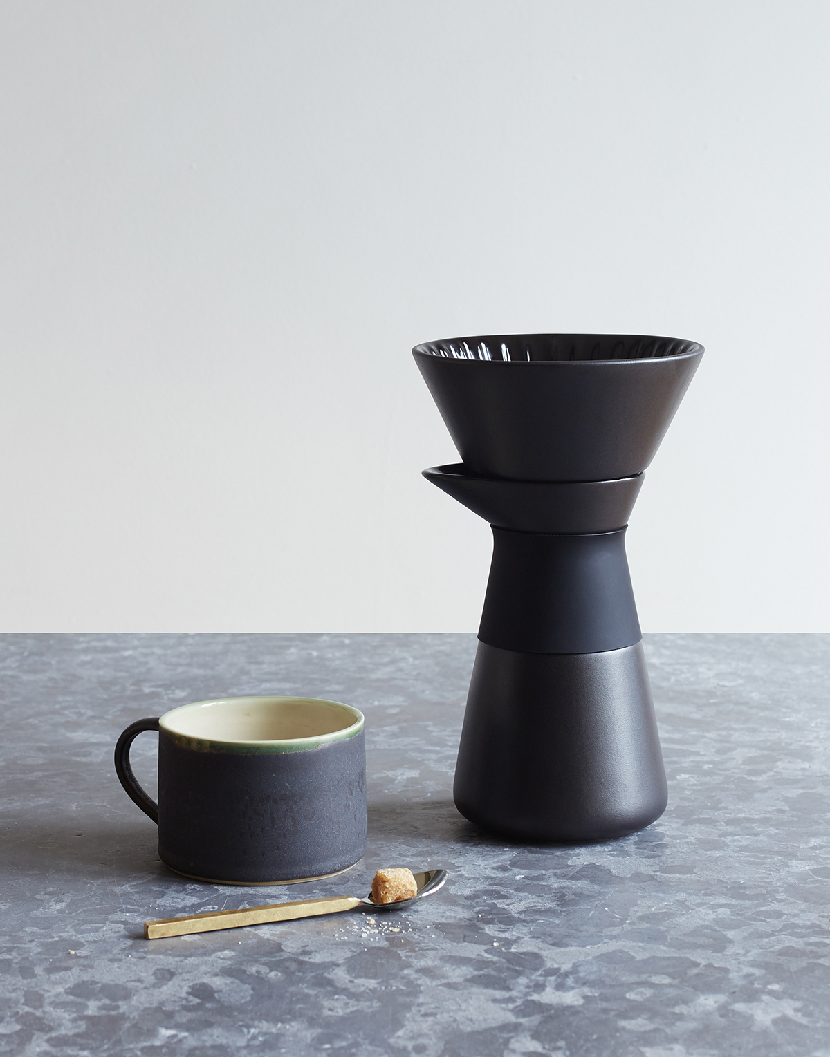 Theo 'Slow Brewer' Coffee Brewer,  Oggetto , £52.95  Danish design brand Stelton's award winning Theo range is a perfect gift for lovers of slow brew filter coffee.