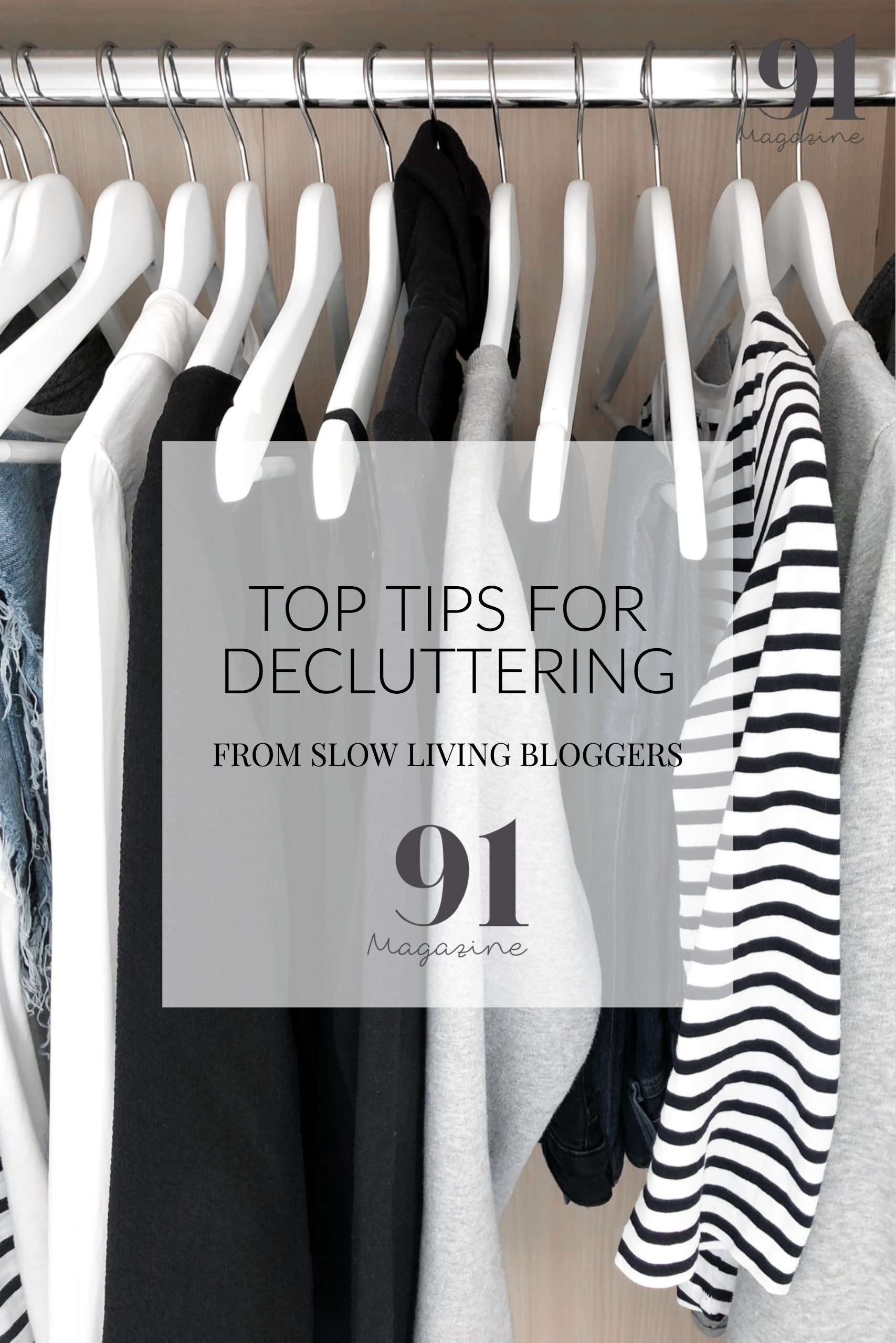 TOP TIPS FOR DECLUTTERING YOUR HOME