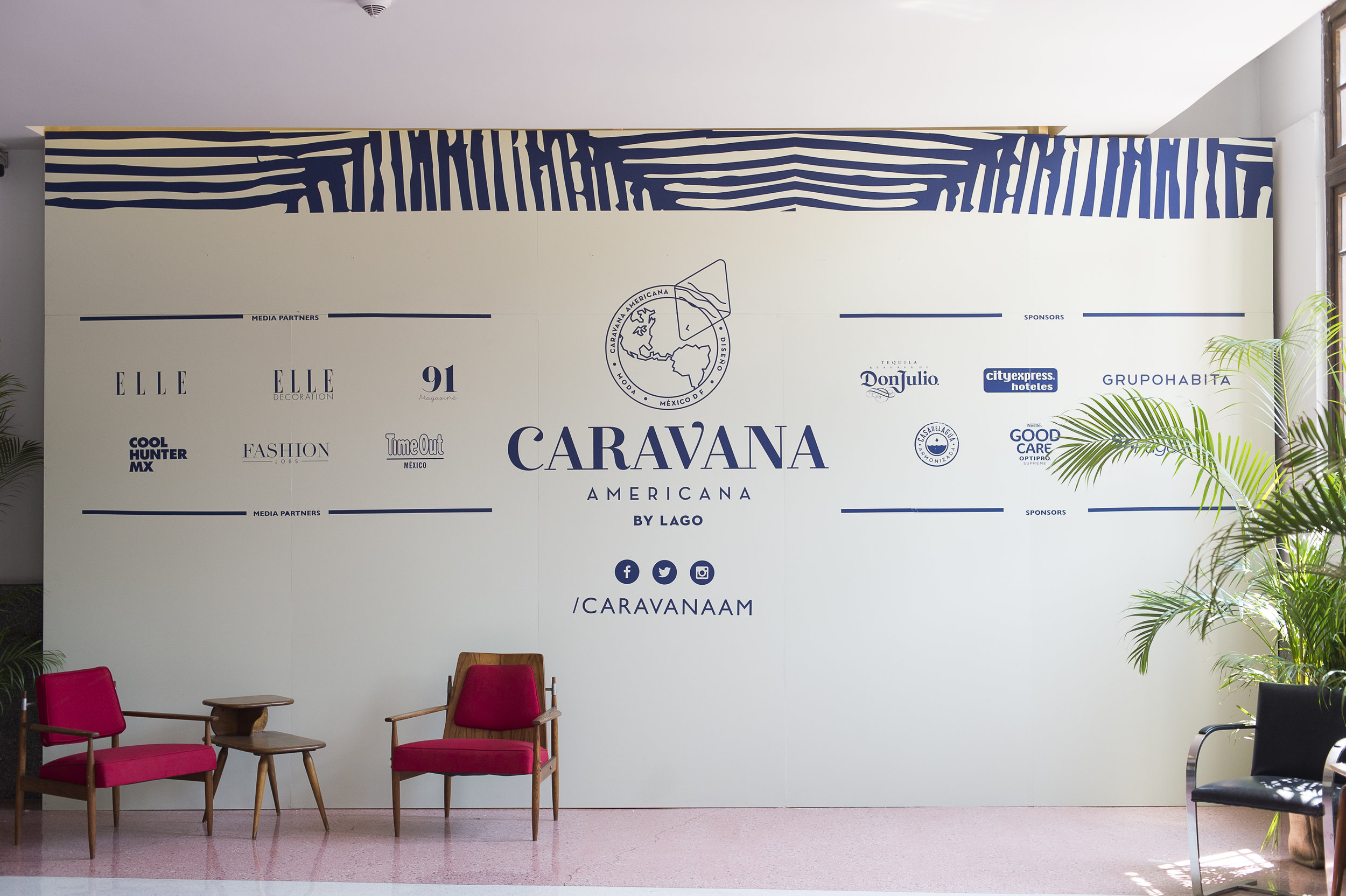 Caravana Americana Mexico City 2018