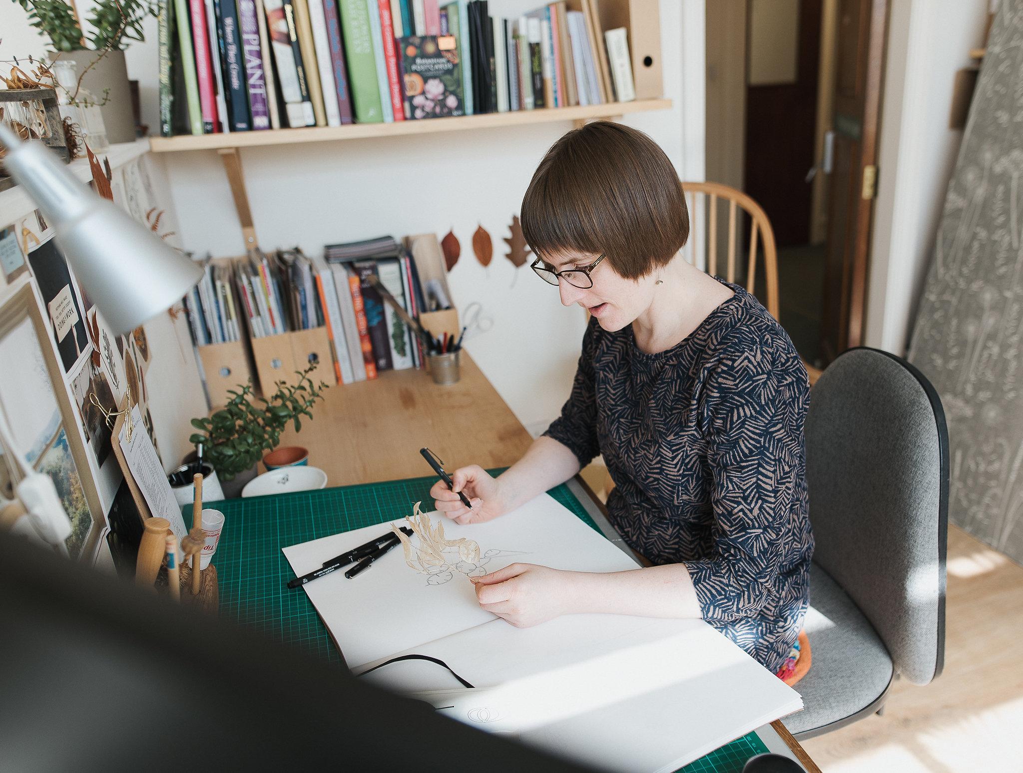 home tour with british designer Hannah Nunn