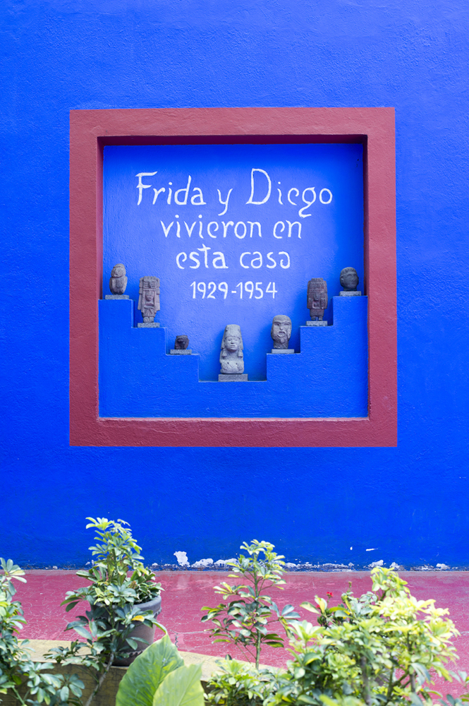 Frida Kahlo museum, Mexico City