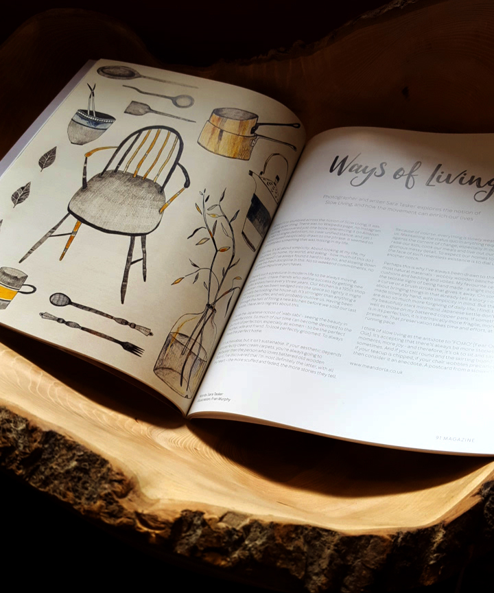 Fran Murphy - illustrations for 91 Magazine