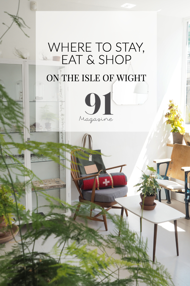 WHERE TO STAY EAT & SHOP ON THE ISLE OF WIGHT