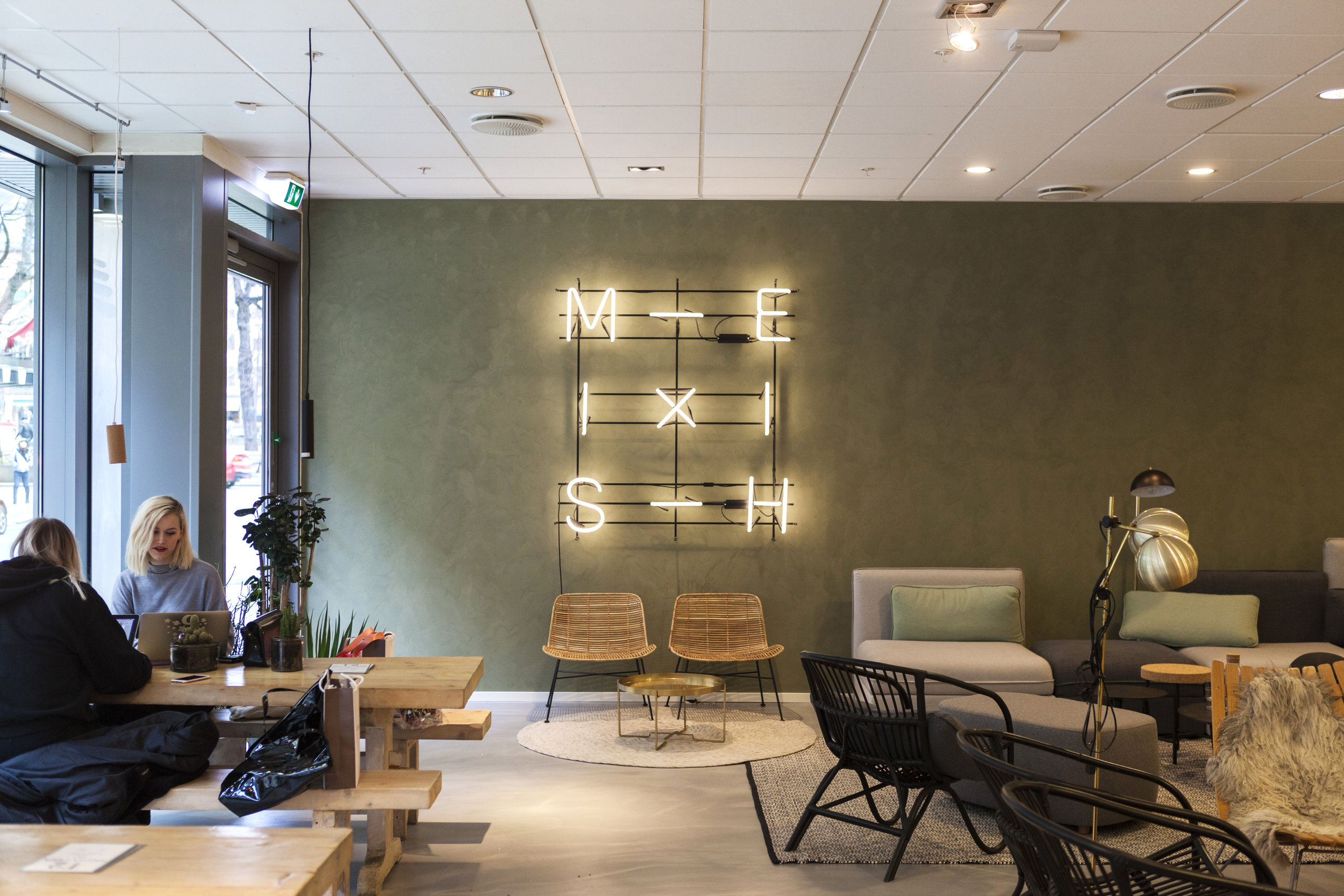 Mesh - co-working space in Oslo, Norway