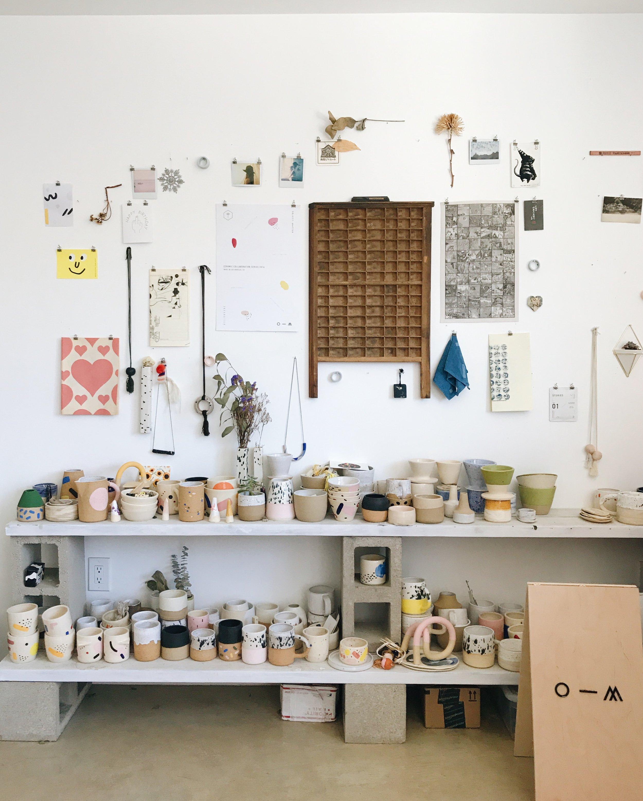 Meet the Maker - O-M Ceramics - 91 Magazine