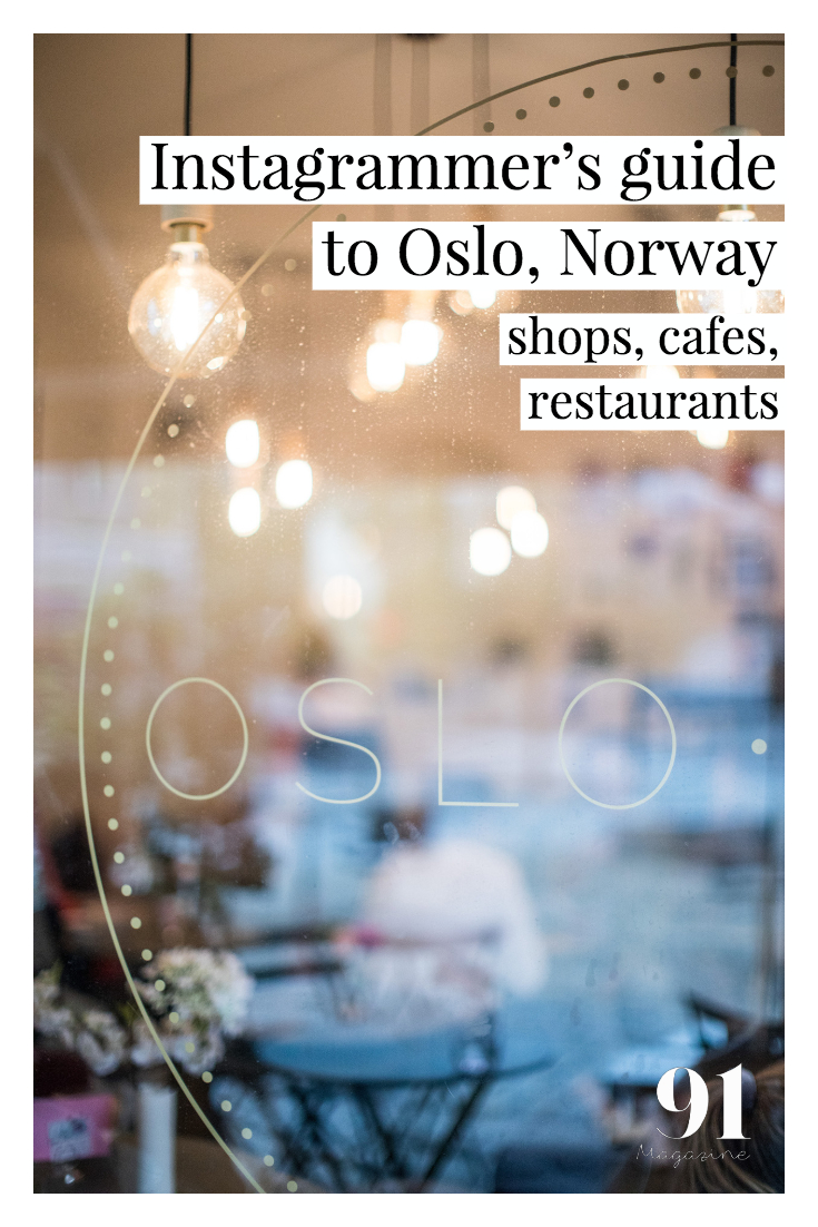Instagrammer's guide to Oslo, Norway by 91 Magazine