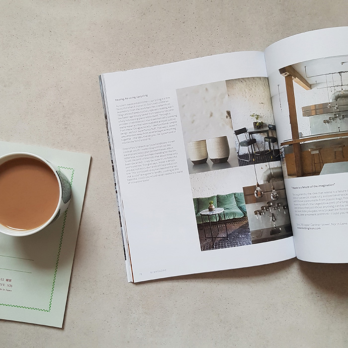 Silo Brighton in 91 Magazine A/W 2018 issue