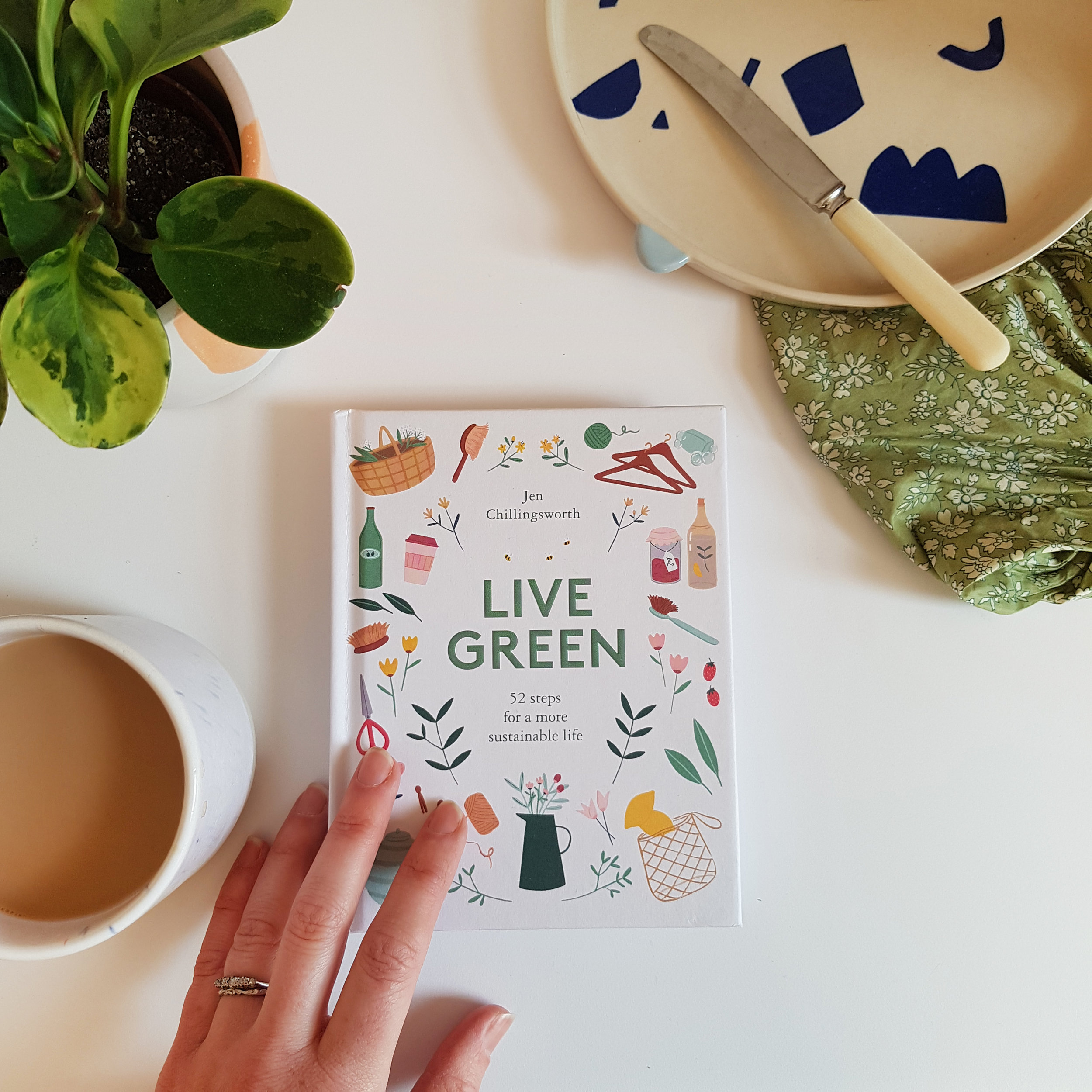 Live Green by Jen Chillingsworth - review by 91 Magazine