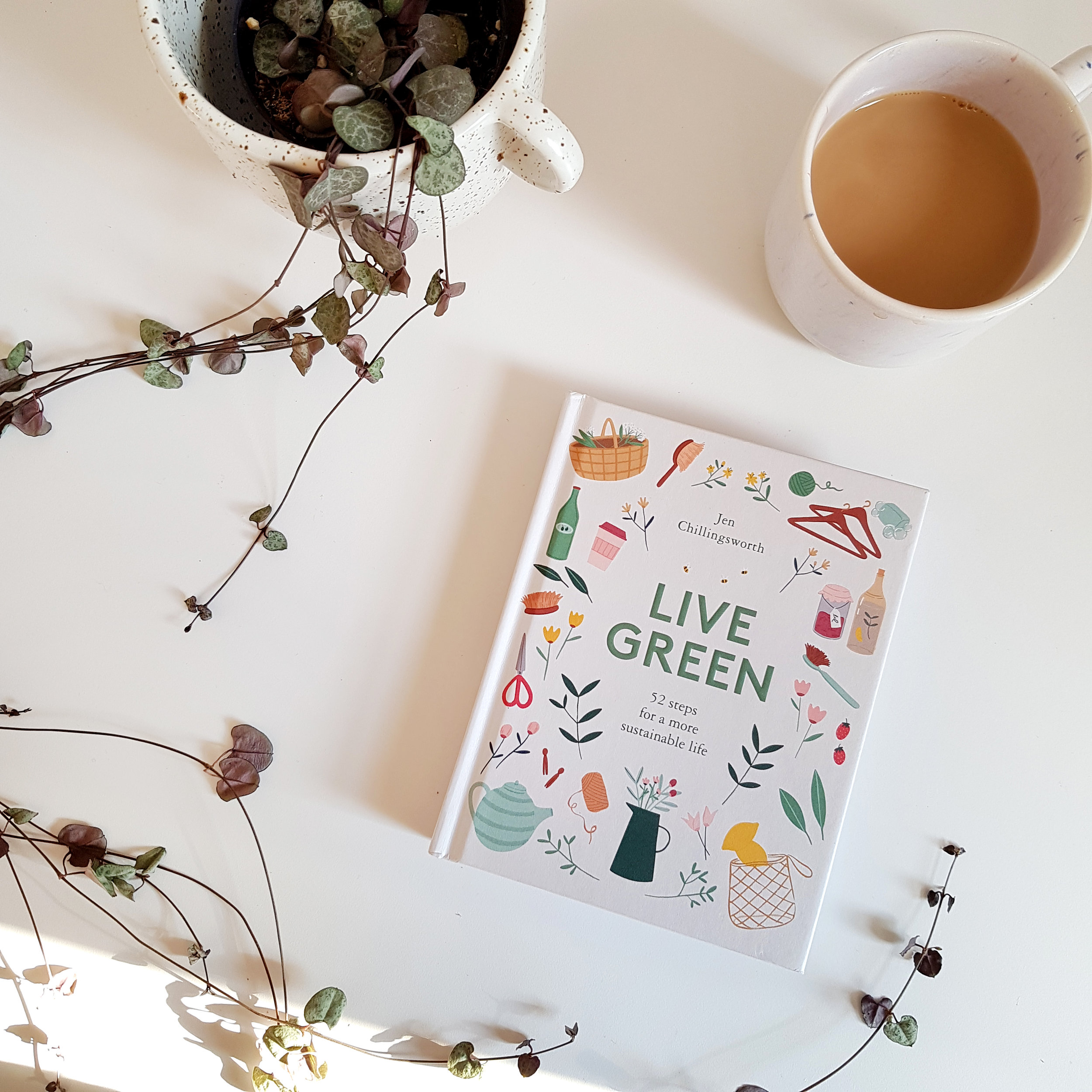 Live Green by Jen Chillingsworth - book review by 91 Magazine