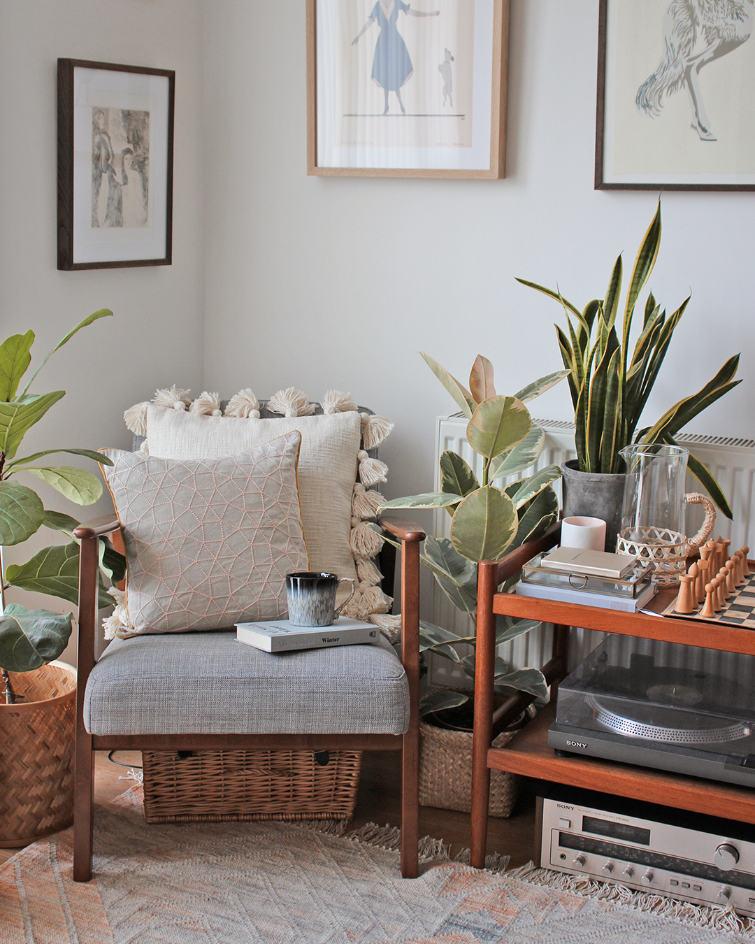 Nancy Straughan Living Room - curating your visual style